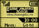Logo mạng Game Over